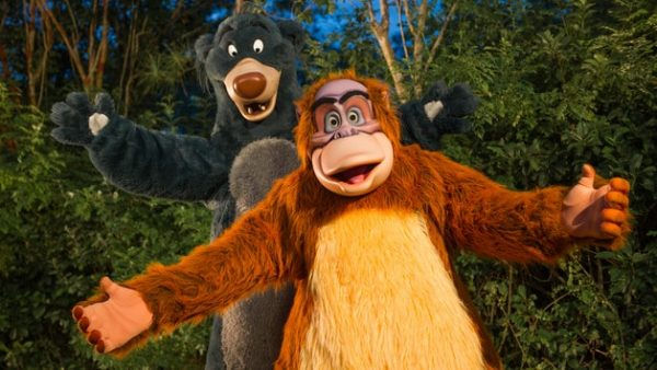 AK baloo and louie upcountry landing 00 600x338 - A guide to all Animal Kingdom rides and attractions