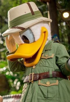 AK character meet duck dinoland 02 e1448831697202 - A guide to all Animal Kingdom rides and attractions