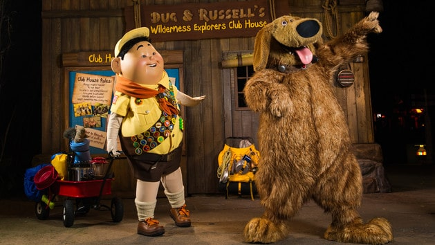 Russell & Dug (character meet) – Temporarily Unavailable