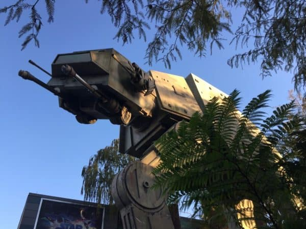 AT AT at Star Tours