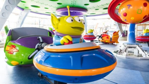 Alien Swirling Saucers 1 600x338 - Guide to all Hollywood Studios rides and attractions