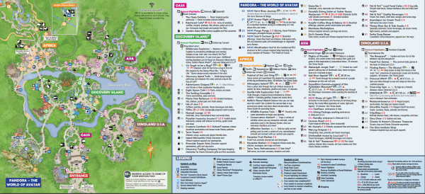 Disney World Maps Download For The Parks Resorts Parties More