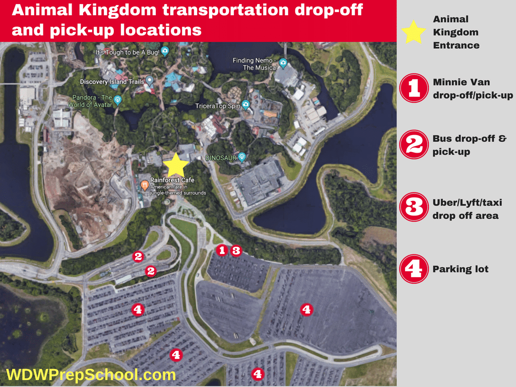 Animal Kingdom Transportation Location 600x450   No More Free Parking For  Onsite Guests! Here Are
