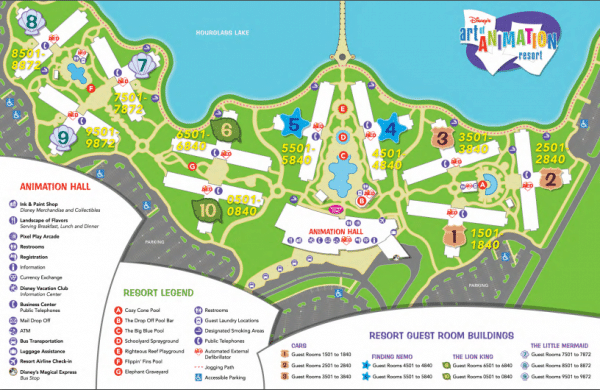 Art of Animation 600x390 - Disney World maps - download for the parks, resorts, parties + more