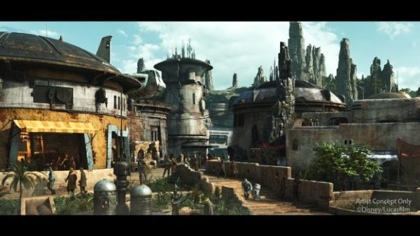 Black Spire Outpost 600x338 - Star Wars at Disney World (including the new Star Wars land)