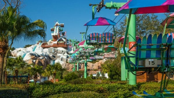 Blizzard Beach At Walt Disney World Or Typhoon Lagoon