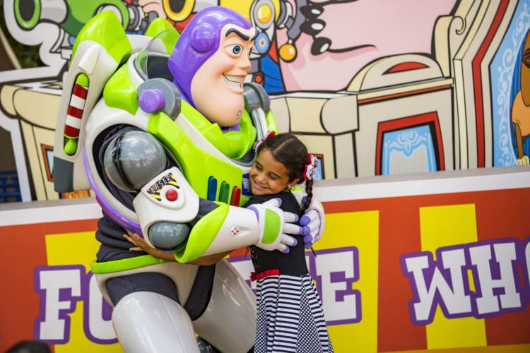 Buzz Lightyear (Character Meet) – Temporarily Unavailable