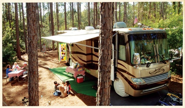 Fort Wilderness Campsites