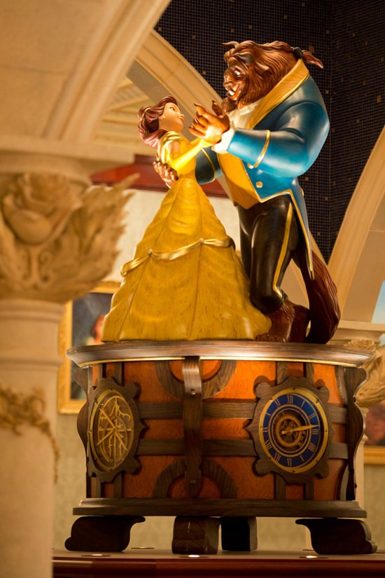 Beauty And The Beast Dining Room Scene