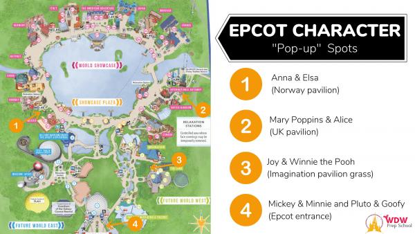 Characters at Epcot