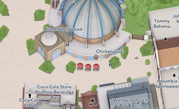 Chicken Guy map