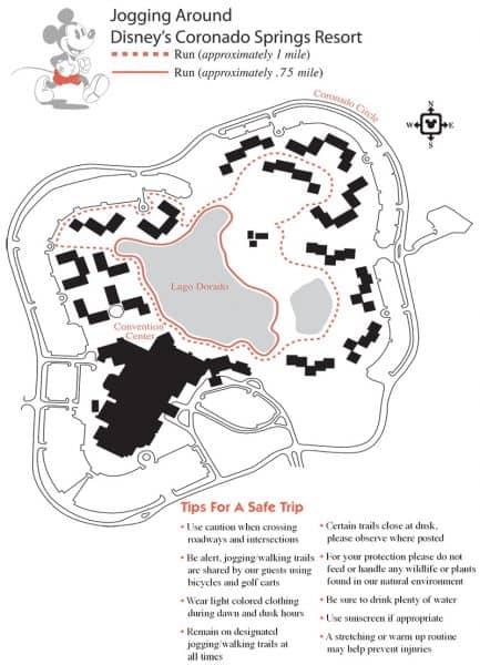 Coronado Springs jogging path