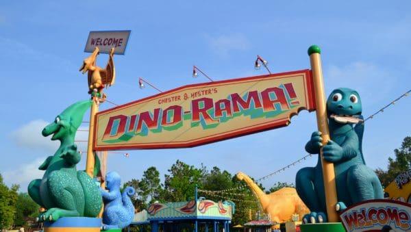 Dino-Rama in DinoLand USA