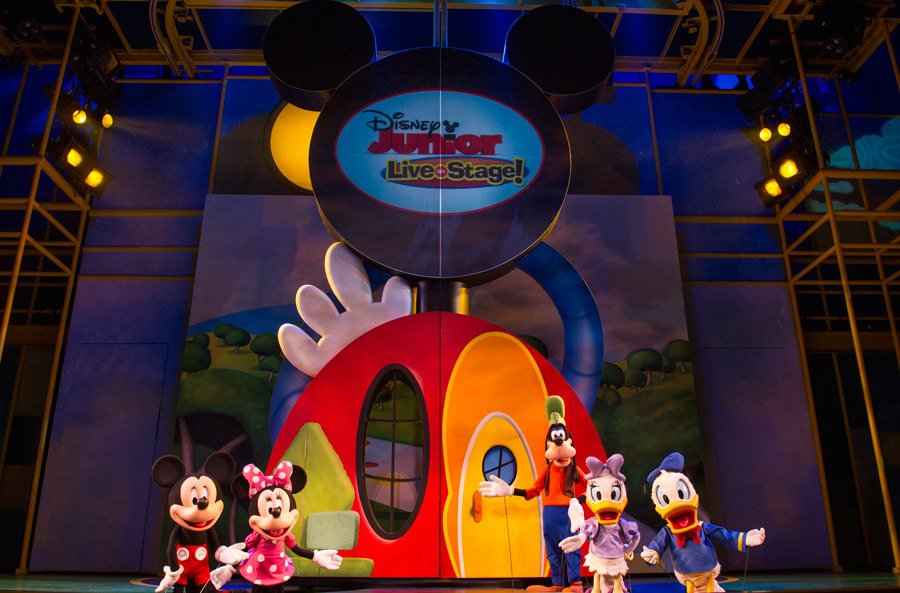 Disney Jr - Where to meet Mickey Mouse at Disney World (no more Talking Mickey)