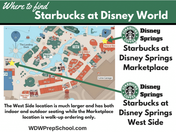 Disney Springs starbucks