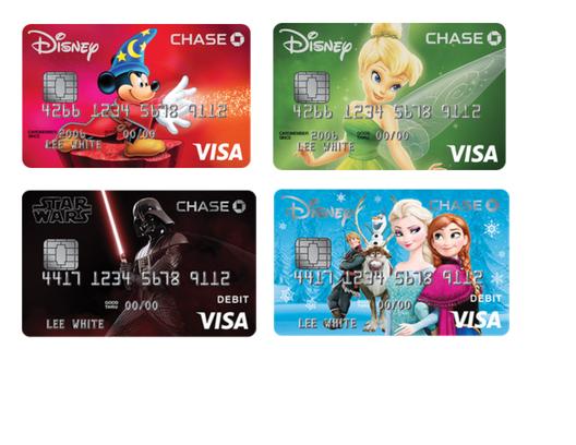 chase visa disney account