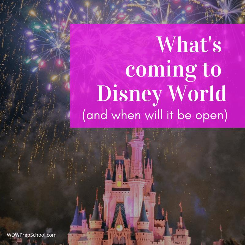 2018 Disney World crowd calendar