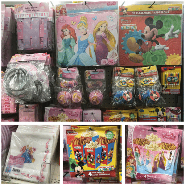 Disney World and Dollar Tree