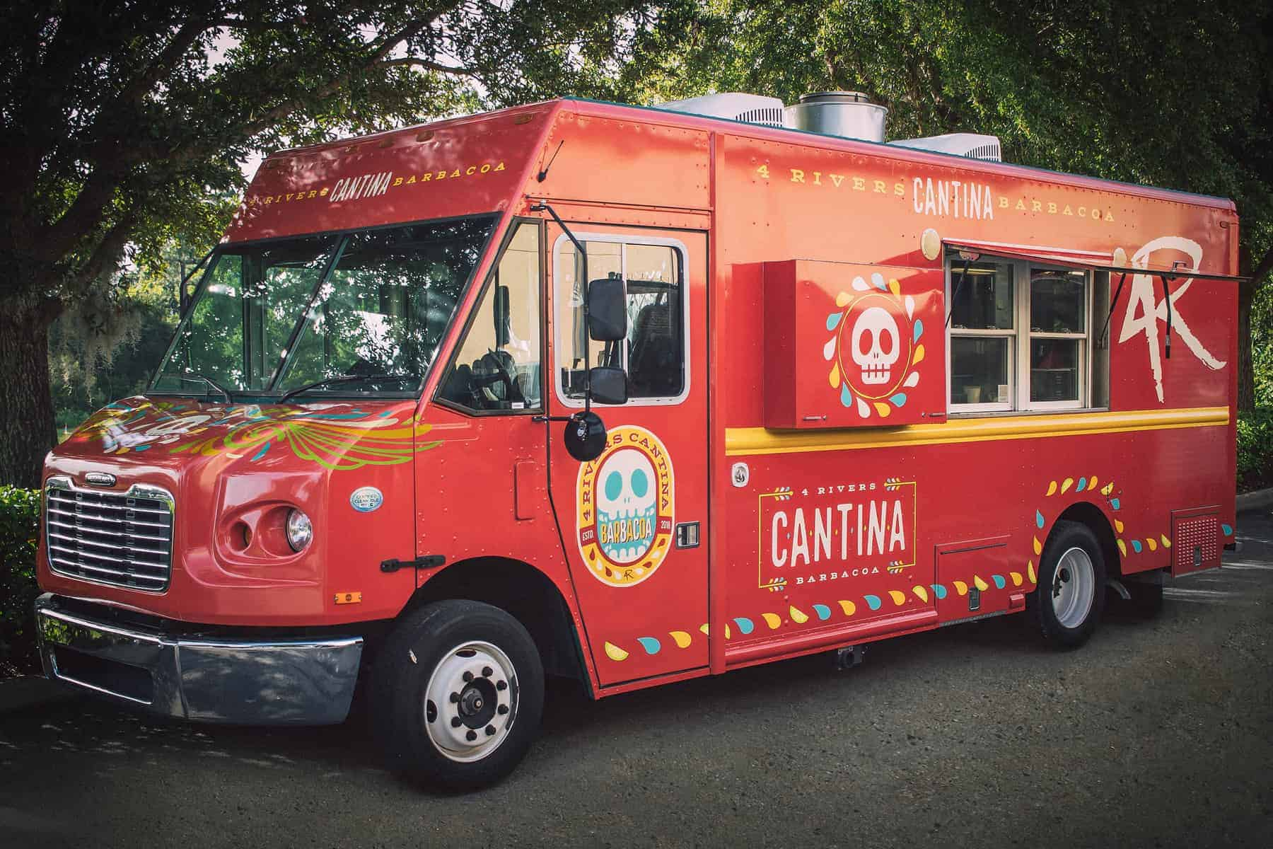 Pros and Cons for All Disney Springs Restaurants - 4 Rivers Cantina Barbacoa Food Truck (dinner)