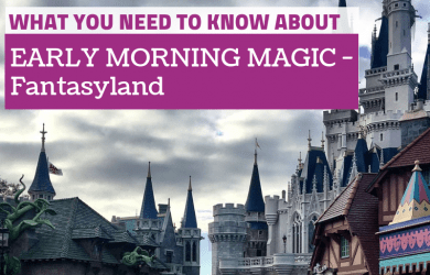 Early Morning Magic - fantasyland