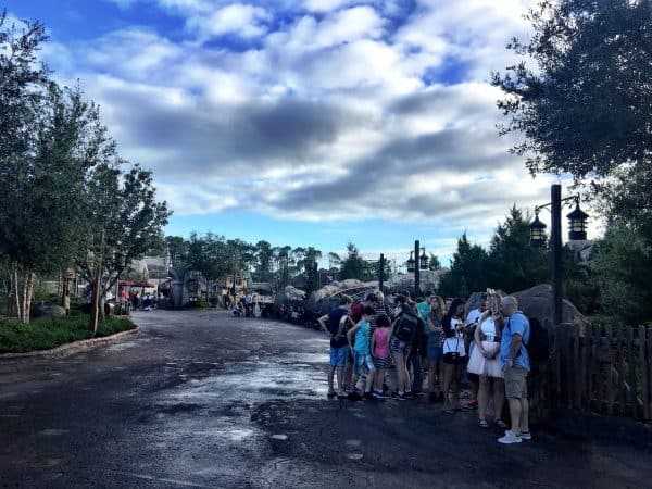 Early Morning Magic Be Our Guest crowd 600x450 - A guide to Early Morning Magic – Fantasyland at Magic Kingdom