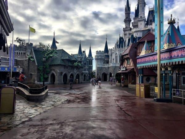 Early Morning Magic Fantasyland