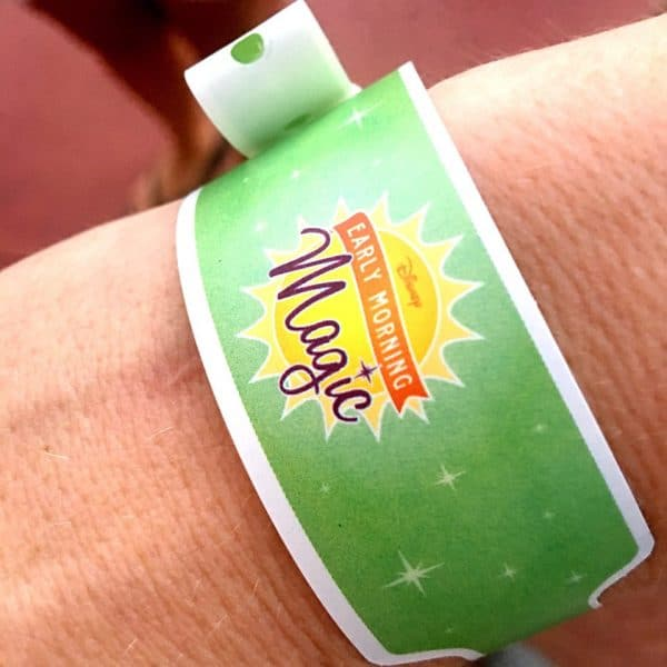 Early Morning Magic bracelet 600x600 - A guide to Early Morning Magic – Fantasyland at Magic Kingdom