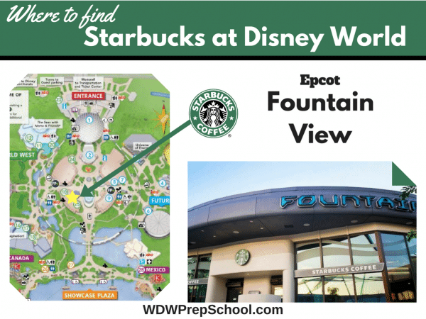 Epcot Starbucks at Disney World