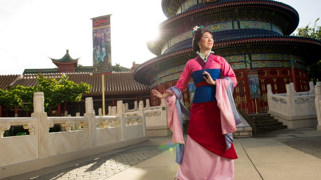 China – Mulan (character meet)