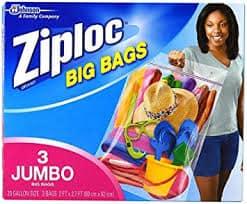 Extra Large ziploc