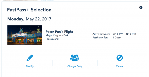 FastpassSelection 600x312 - Can I book FastPasses in two parks for the same day?