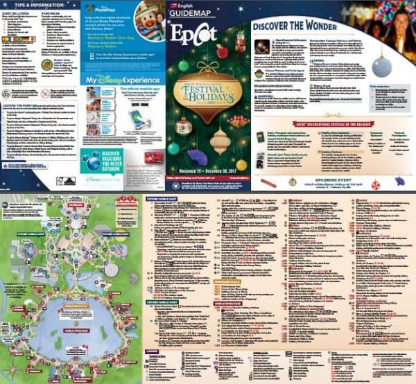 Festival of the Holidays 600x554 - Disney World maps - download for the parks, resorts, parties + more