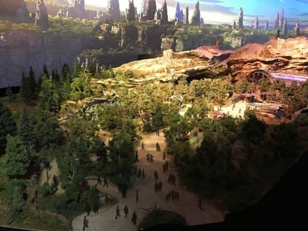 Star War's Galaxy's Edge Model