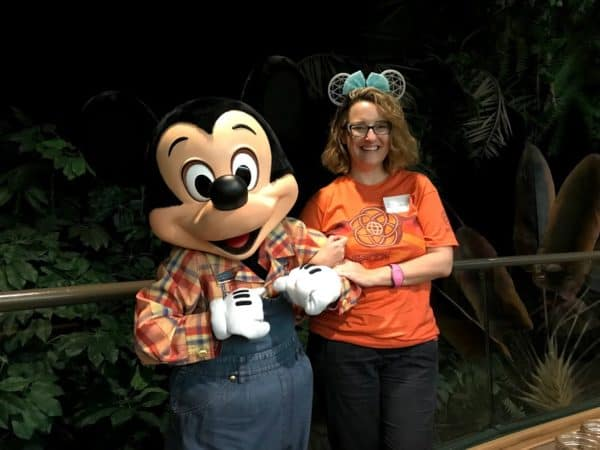 Garden Grill Mickey
