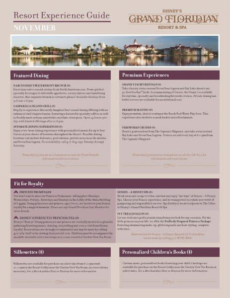Grand floridian recreational guide 463x600 - 1900 Park Fare (breakfast)
