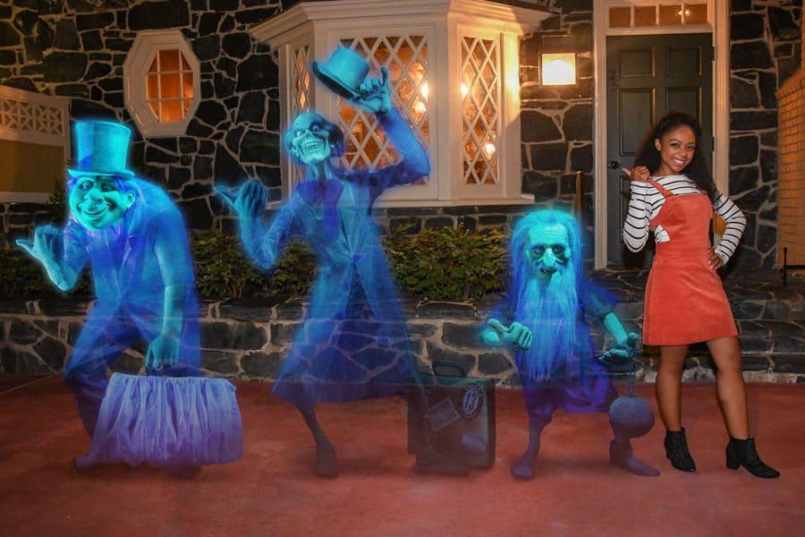 MNSSHP Haunted Mansion Magic Shot