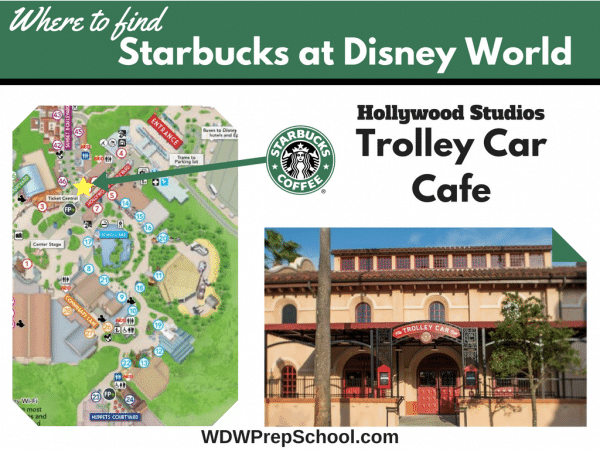 Hollywood Studios Starbucks at Disney World