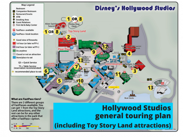Hollywood Studios touring plans 3 600x450 - Toy Story Land touring plans (with FastPass+ suggestions)