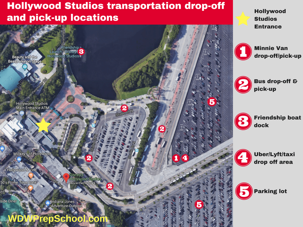 Parking At Disney World Other Helpful Wdw Driving Tips