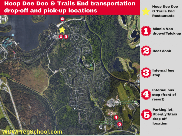 Hoop Dee Doo transportation location 600x450 - Minnie Vans now available at all resorts! Here's how they work.