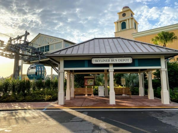 Caribbean Beach Skyliner station