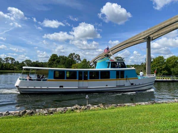 Magic Kingdom Water Taxi Boat