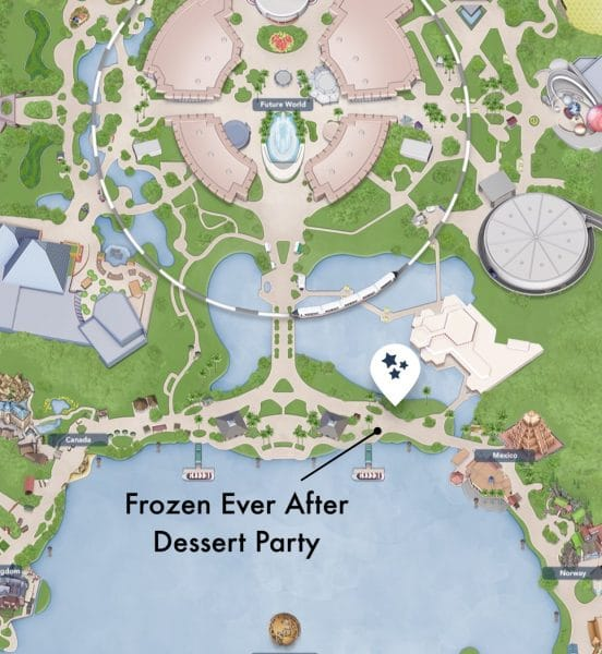 IMG 6423 552x600 - All about the Frozen Ever After Dessert Party at Epcot