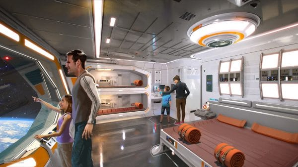 Star Wars resort at Walt Disney World