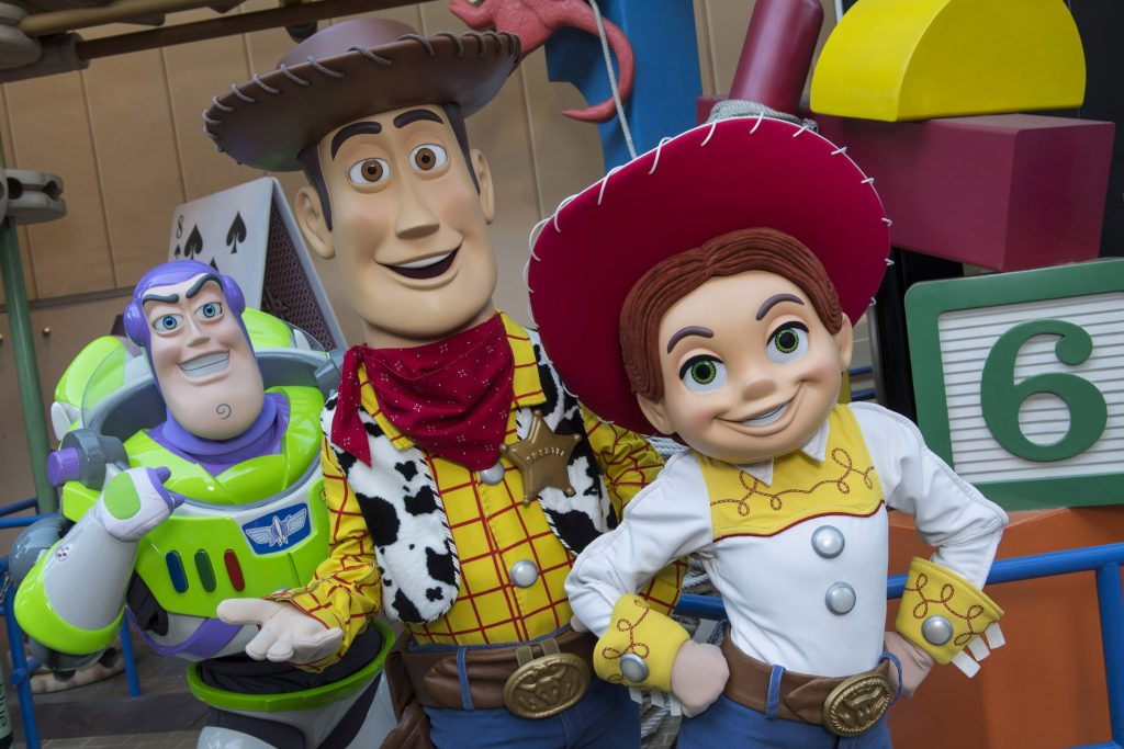 Jessie and Woody (character meet)