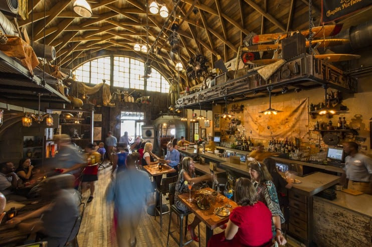 Disney Springs Dining - Jock Lindsey's Hangar Bar