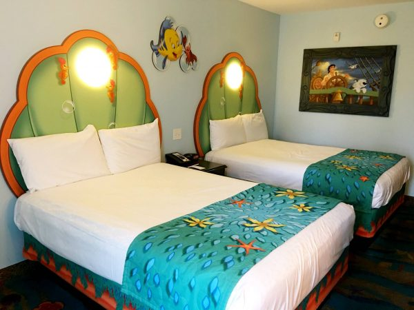 Little Mermaid Room