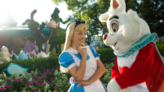 Alice in Wonderland (character meet) – Temporarily Unavailable