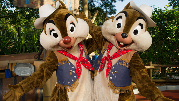 Chip 'n' Dale (character meet)