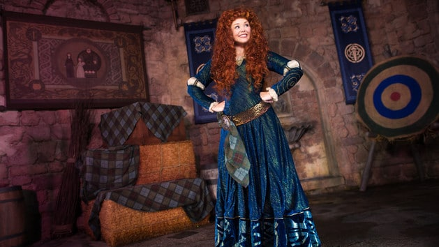 Merida (character meet)